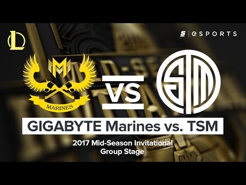 HIGHLIGHTS: GIGABYTE Marines vs. Team SoloMid (2017 MSI Group Stage)