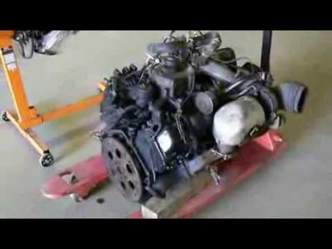 Turbo 6.2 Diesel >> Engine Size Comparison : GM 6.5 Diesel and 350 (5.7 litre) V8 - YouTube