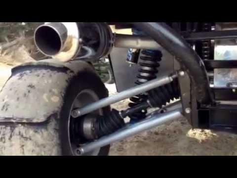 Yamaha Rhino motor swap walk around!