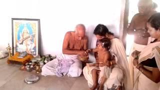Meera Baburaj at Panachikkadu Saraswathy Temple (Temple University 04/11/2011)