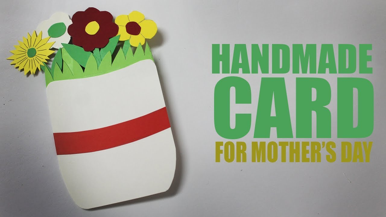 Handmade Cards For Mothers Day Greeting Cards Ideas Youtube