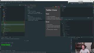 Laravel 5.7 | Making a Twitter Clone | Stream #2