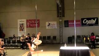 Nicki Shaw, Guest Performer at the Miss Georgia Pole Dance Competition 2011