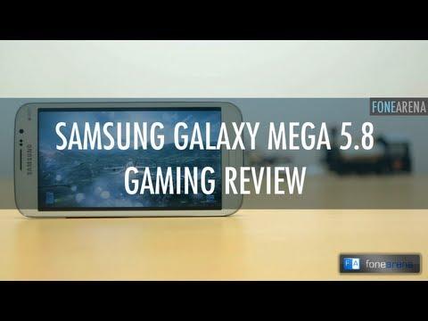 Samsung Galaxy Mega 5.8 Gaming Review