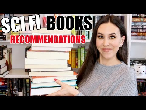 Sci Fi Book Recommendations For Beginners || Books With Emily Fox
