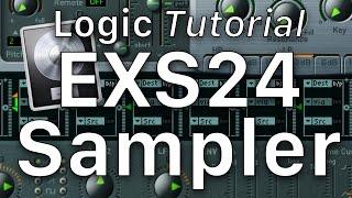 EXS24 Sampler Logic Pro X - Create your own custom sampler instruments