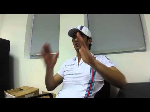 Bahrain - Post FP1 with Felipe Nasr (ENG)
