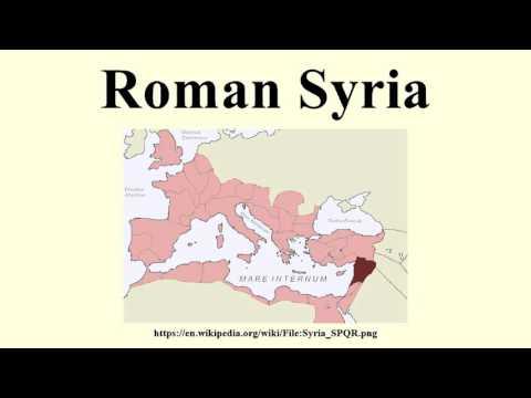 Roman Syria