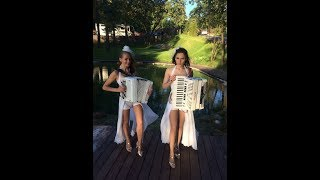Download Дуэт Ларго!!! Невероятно красивые девушки аккордеонистки России!!! Mp3 and Videos