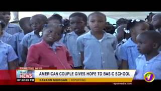 American Couple Gives HOPE - Ray of Hope (TVJ Prime Time News) January 21 2019