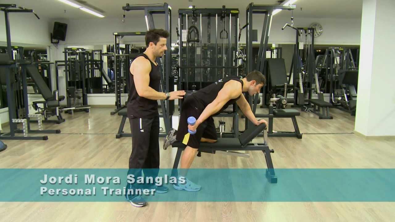 Triceps mancuernas ejercicios con para hacer
