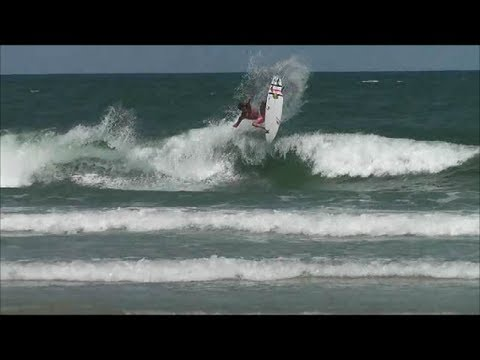 Surfing New Smyrna Beach Florida Sharkiest Day In A While
