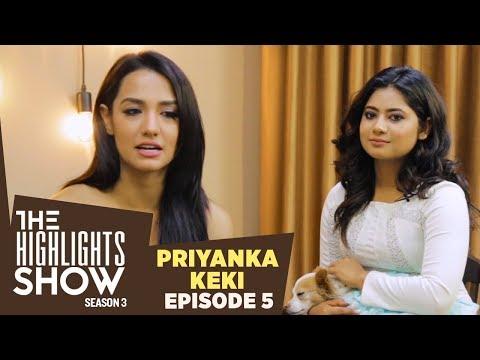 Priyanka Karki & Keki Adhikari @ THE HIGHLIGHTS SHOW   Season 3   Ep. 5   KOHALPUR EXPRESS