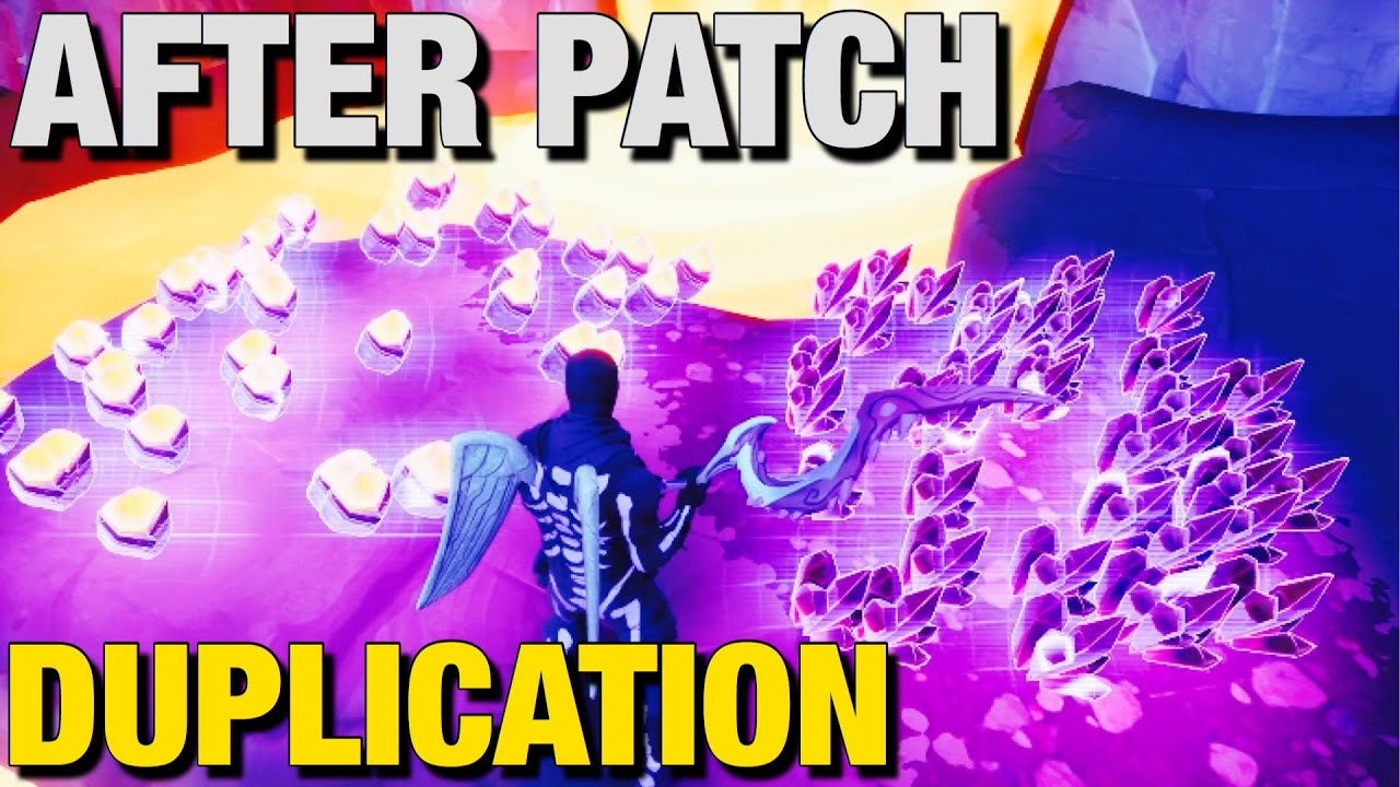 *AFTER PATCH* Weapons/Materials Duplication Glitch V13.20 ! Fortnite Save The World