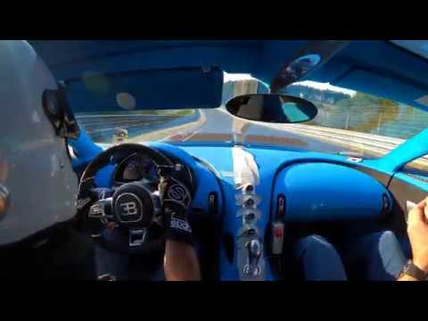 Onboard Footage Of Bugatti Chiron Pur Sport Prototype Testing At The Nürburgring Nordschleife