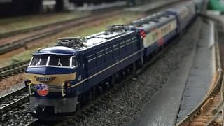 Nゲージ鉄道模型 三光堂 走行会