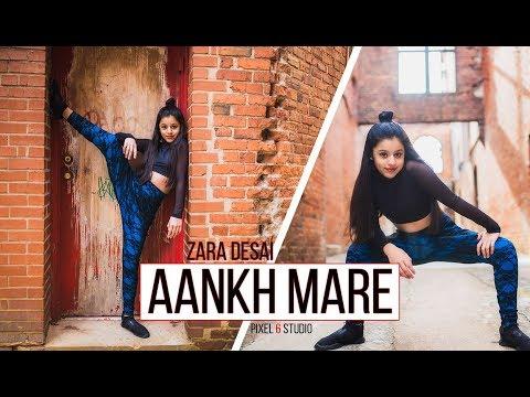 SIMMBA - Aankh Marey Dance Video | Zara Desai | Ranveer Singh, Sara Ali Khan | Neha Kakkar