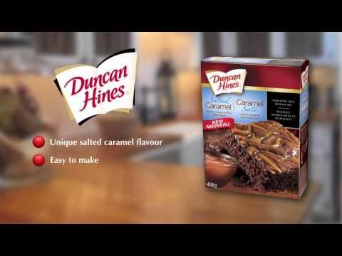 Duncan Hines Salted Caramel