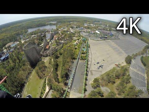 Zumanjaro: Drop of Doom on-ride 4K POV Six Flags Great Adventure