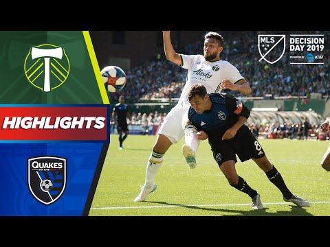 Portland Timbers Vs. San Jose Earthquakes | A Playoff Spot Battle! | HIGHLIGHTS