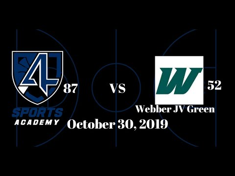 4A Sports Academy 87 Vs Webber International JV Green 52, 10-30-19