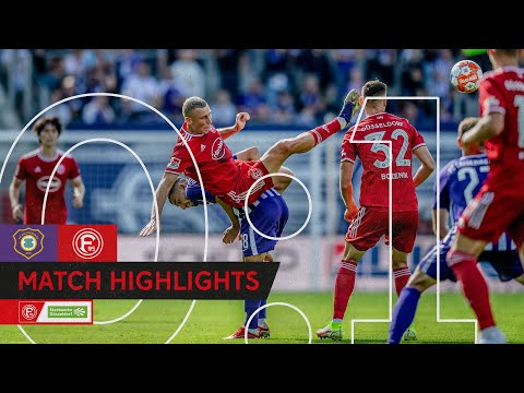 F95-Highlights | FC Erzgebirge Aue vs. Fortuna Düsseldorf 0:
