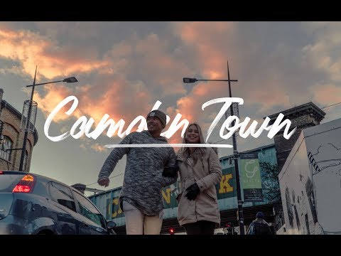Exploring CAMDEN for the first TIME! - London Vlog 1