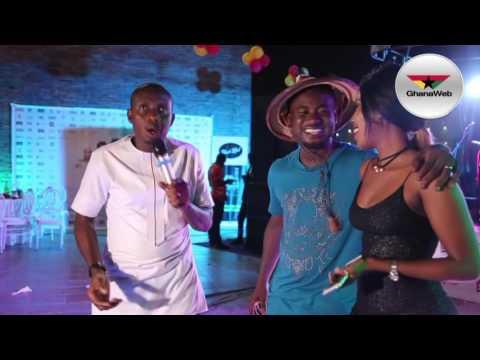 Abeiku Santana's Birthday Party: Counselor Lutterodt clashes with Kofi Adjorlolo's fiancee