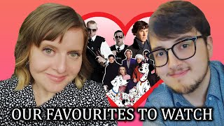 MINE AND MY WIFE'S FAVOURITE FILMS & TV SHOWS!