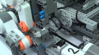 """Принтер из Lego Mindstorms """"STALKER ver. 2.0"""""""
