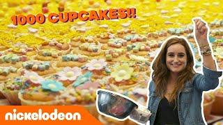 Jill en Demi maken 1000 cupcakes! 😍   De Viral Fabriek   Nickelodeon Nederlands