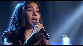 La Voz Kids | Ailyn de la Garza canta 'Como yo nadie te ha amado' en La Voz Kids 3