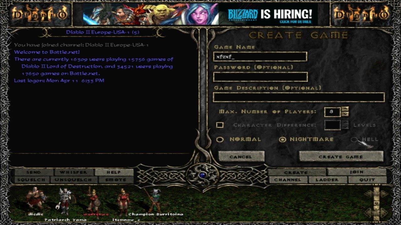 Diablo 2 lod maphack patch 11364 windpoks.