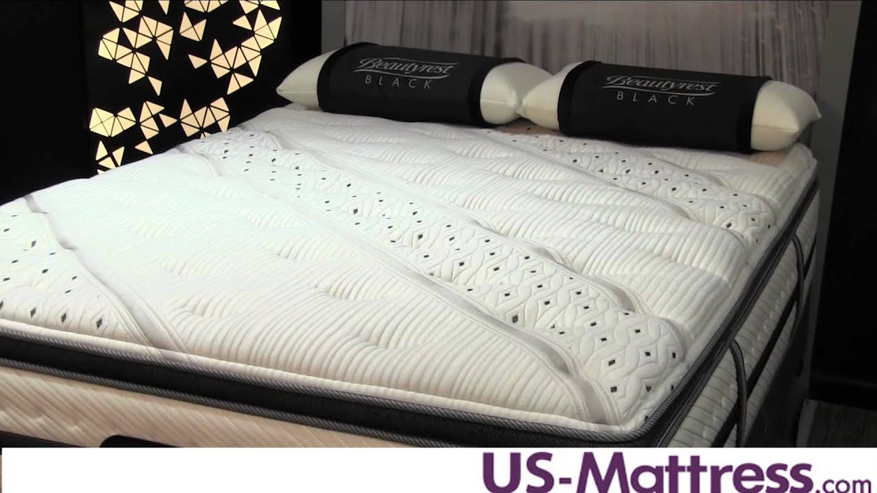 Simmons Beautyrest Black Evie Plush Pillow Top Mattress