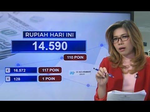 Pergerakan Rupiah dan IHSG 9 November 2018