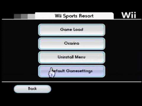 Select Alternate DOL for Wii Sports Resort