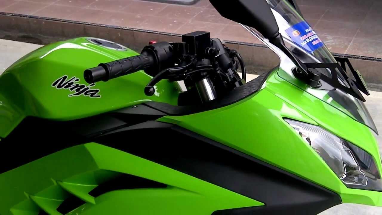 Kawasaki Ninja 250 FI 2013 Green  YouTube