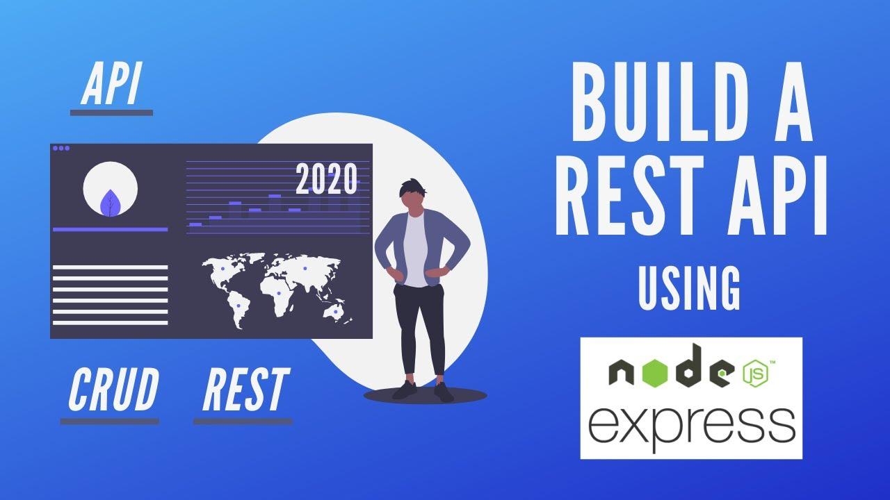 Build a REST API with Node JS and Express | CRUD API Tutorial