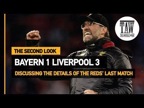Bayern Munich 1 rpool 3  The Second Look