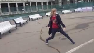 Флешмоб на песню Полины Гагариной -