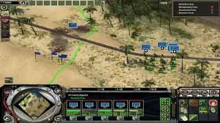 Axis & Allies Axis Campaign Mission 2: Battle of El Alamein (Germany)