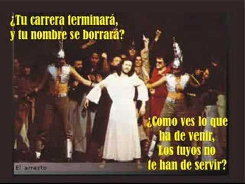Camilo Sesto Jesucristo Superstar 12 El Arresto Youtube