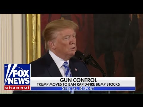 President Trump moves to ban rapid-fire bump stocks