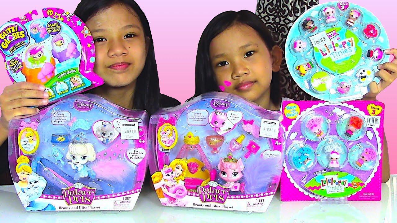Lalaloopsy Tinies Disney Princess Palace Pets Glitzi Globes Kids