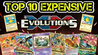 Top 10 Expensive Pokémon XY Evolutions Cards!