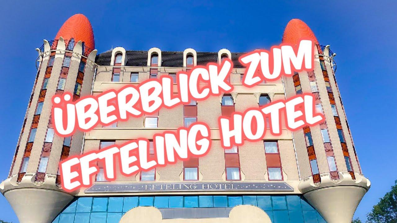 Überblick zum Efeling Hotel - inkl. Room Tour, Abendessen im Efteling Restaurant und Frühstück!