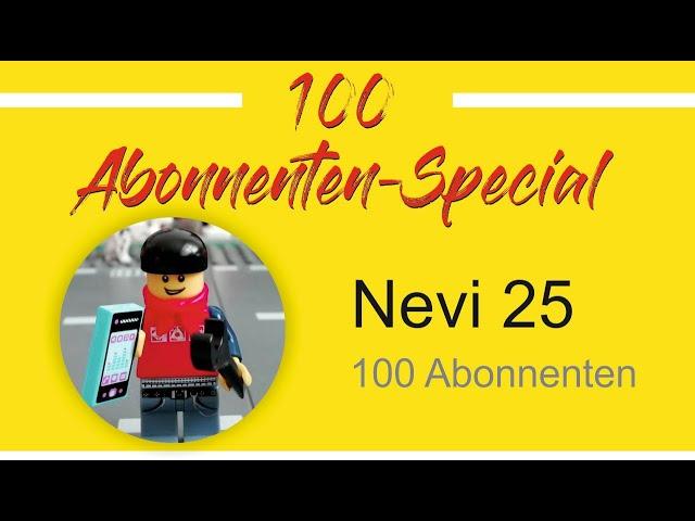 100 Abonnenten Special - MOC-Contest Information