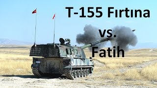 Story of T-155 Fırtına and Fatih Howitzers