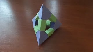 Модульное оригами - Пирамида