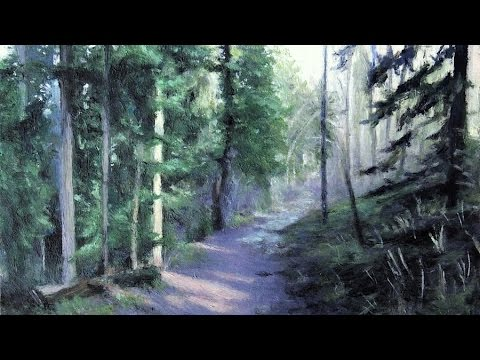 Painting Nature   Exploring the woods   Lena's Art Diary